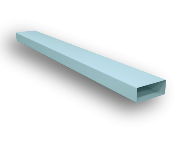 220*90mm Low Profile Flat Duct
