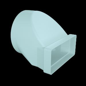 Rectangular/Round Adapter Ø200mm for 220 series